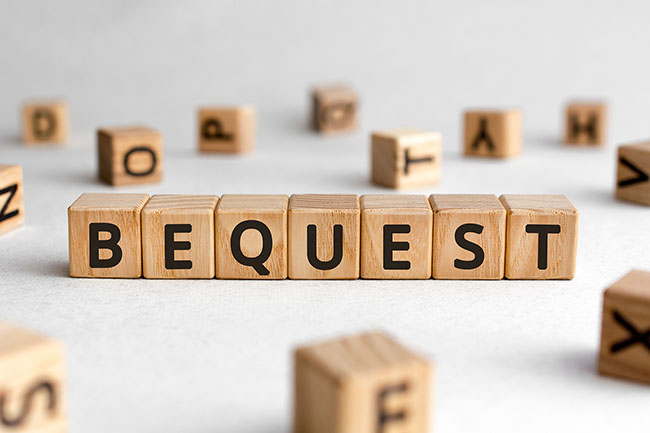 Donations Bequests