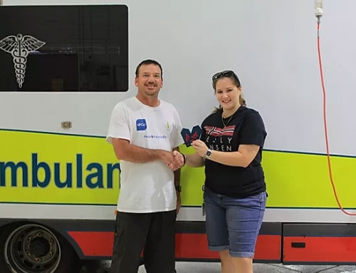 $3000 Raised by Cairns Paramedic