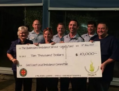 Donations From Gold Coast Ambulance Committee